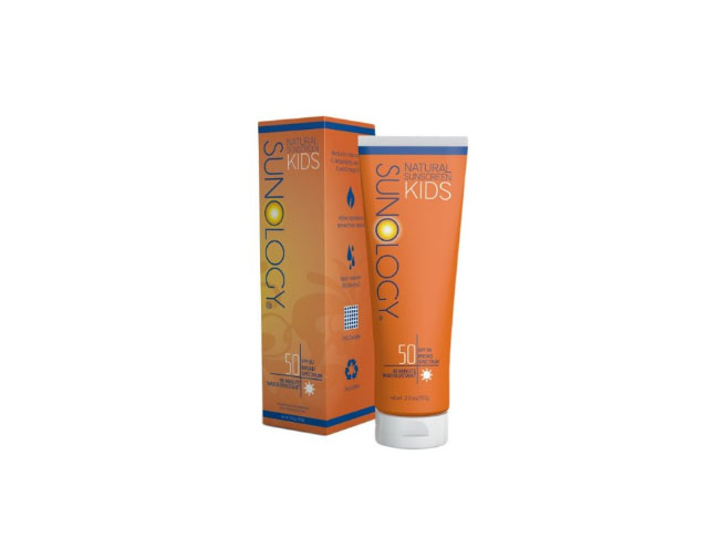 Sunology Natural Sunscreen for Kids SPF 50, Broad Spectrum