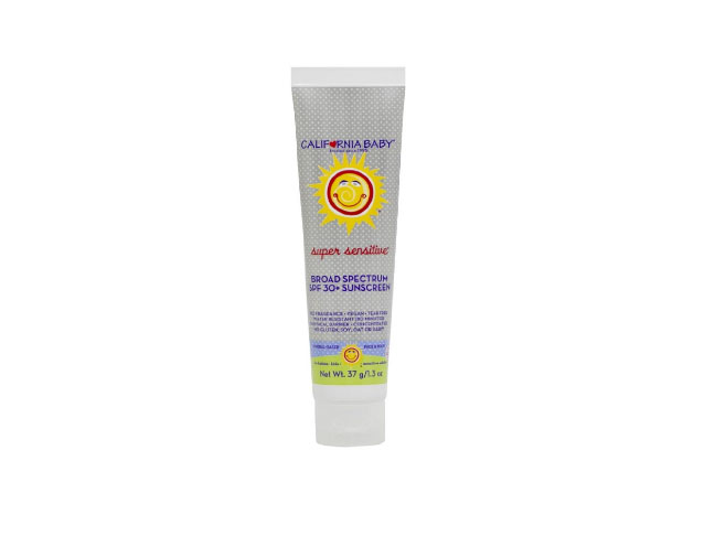 California Baby Super Sensitive Sunscreen Lotion, SPF 30+