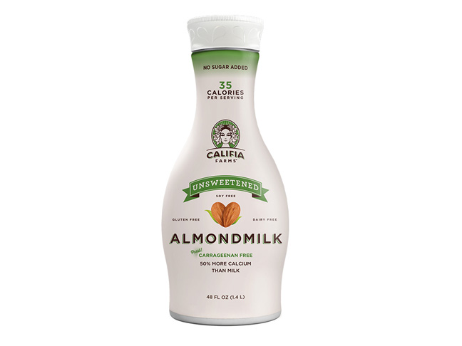 Milk: Califia Farms Almond Milk