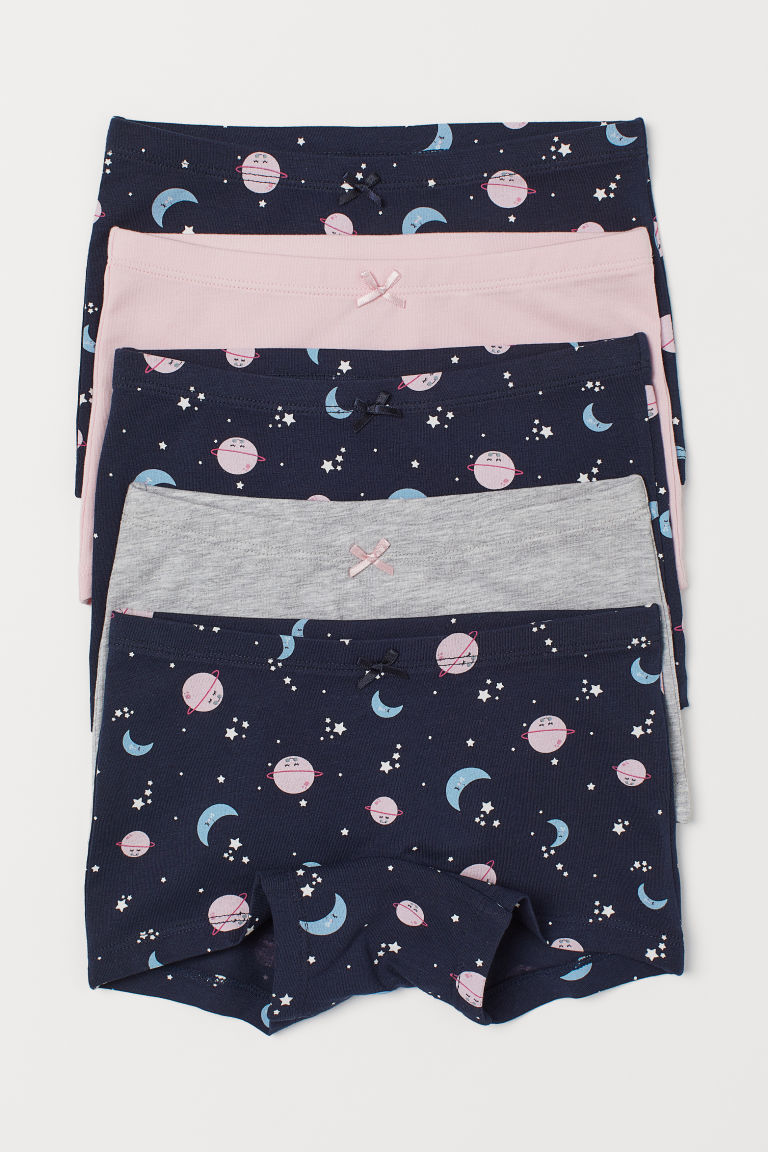 Girly Toddler Boxer Briefs: H&M