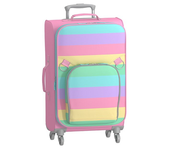 Pottery Barn Kids Fairfax Rainbow Stripe Spinner