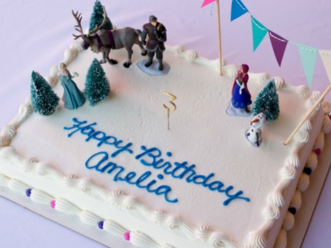 Disneys Frozen Birthday Cake Cupcake Ideas