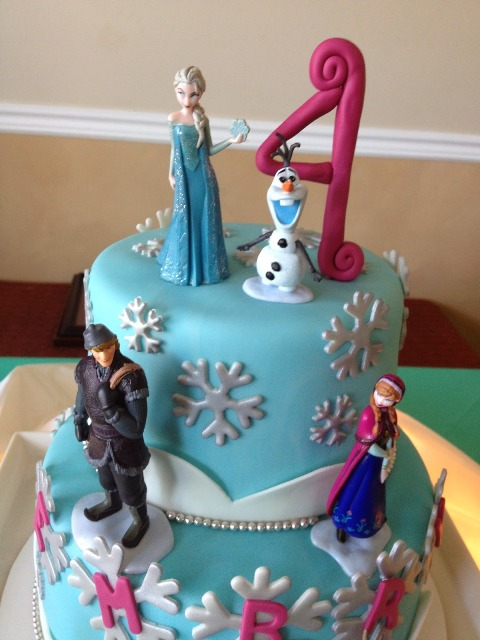 Birthday Cake Ideas Disney Frozen ~ Disney s frozen birthday cake cupcake ideas momtastic
