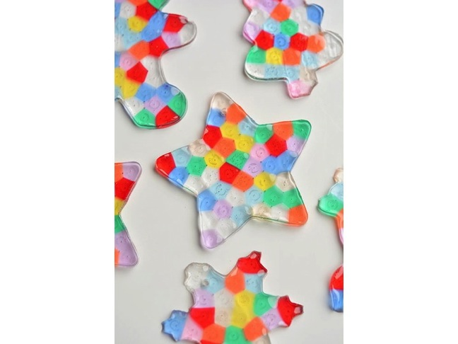 DIY Melted Bead Ornaments