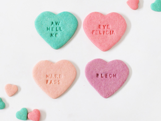 31 Adorable Conversation Hearts Craft Projects For Valentine S Day
