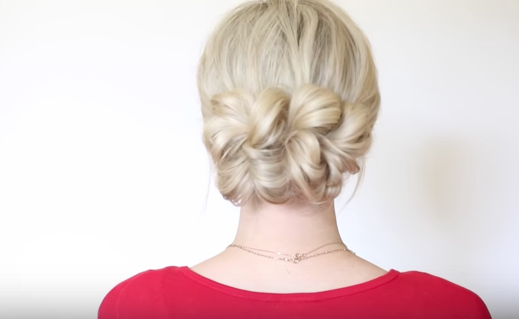 The Pull-Through Updo