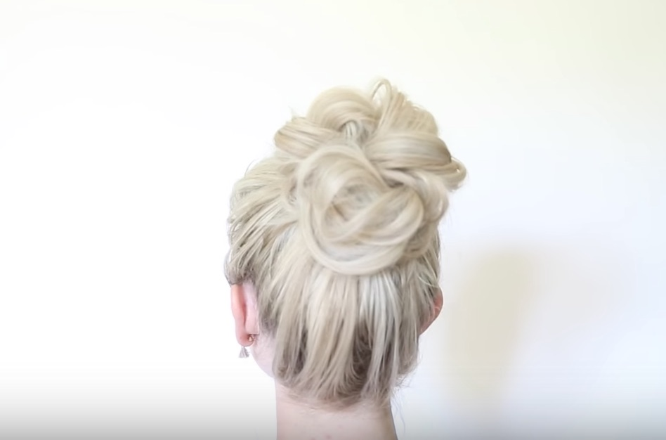 The Twisted Messy Bun