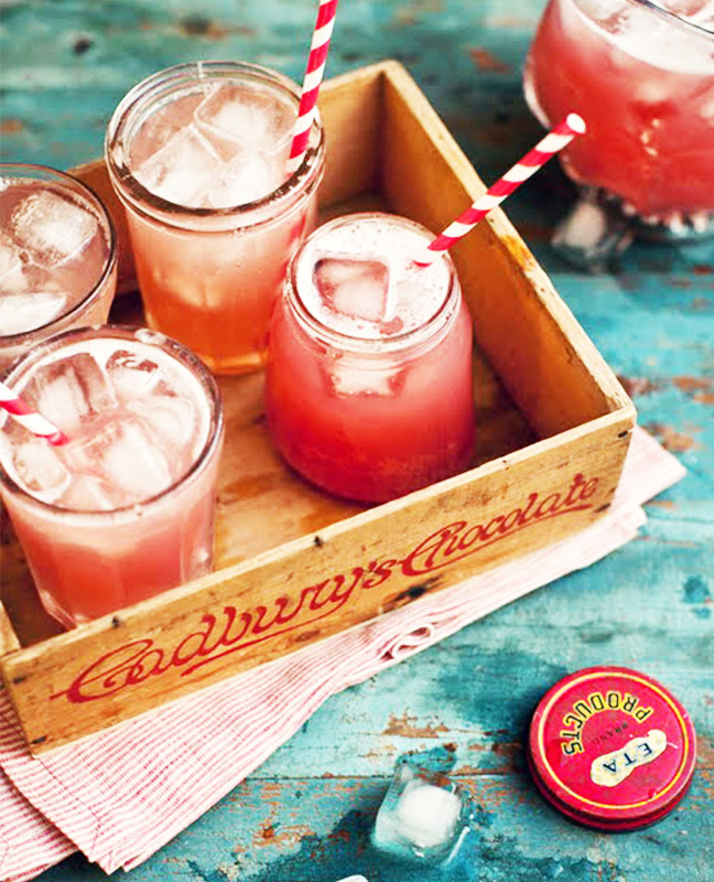 Apple, Ginger, and Cranberry Cocktail