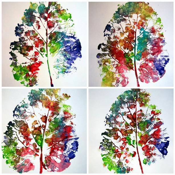 Art Ideas With Leaves: 41 Fall Leaf Crafts Your Kids Will Love