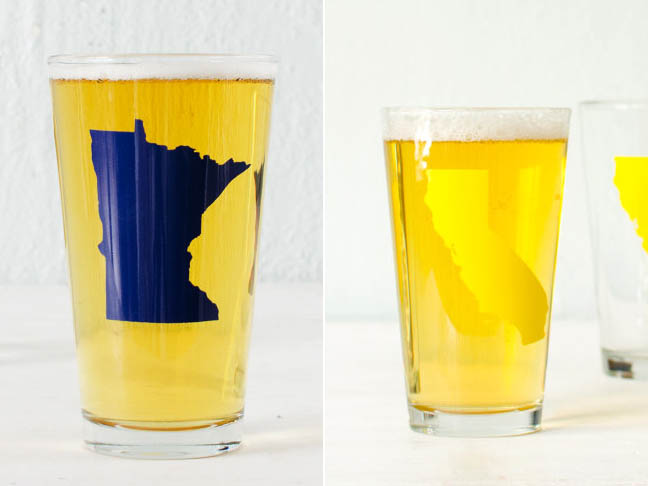 Home State Glasses from Vital