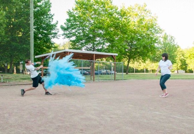 Home Run Gender Reveal