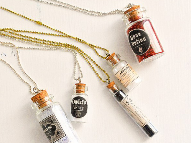 Apothecary Necklaces