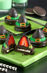 Wickedly Wonderful Witch Hat Cookies