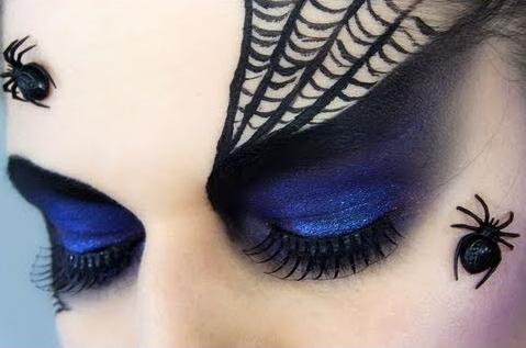 9 DIY Halloween Eye Makeup Looks