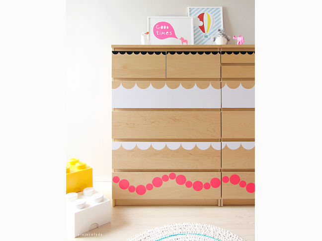 Scalloped Stickers Hack