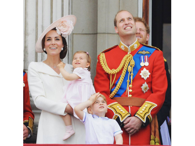 The Princess Makes Her First Public Appearance