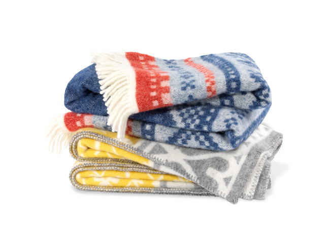 Hand Crafted Scandinavian Wool Throws