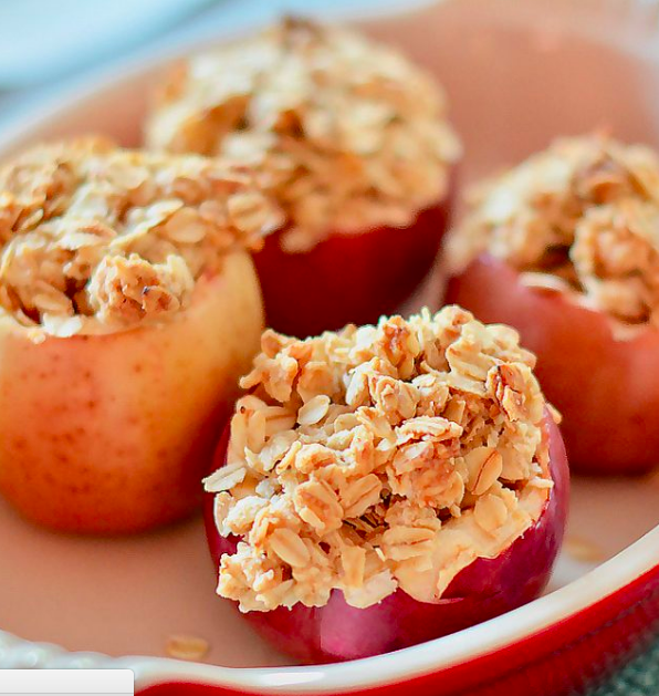 Fresh and Simple Baked Stuffed Apples