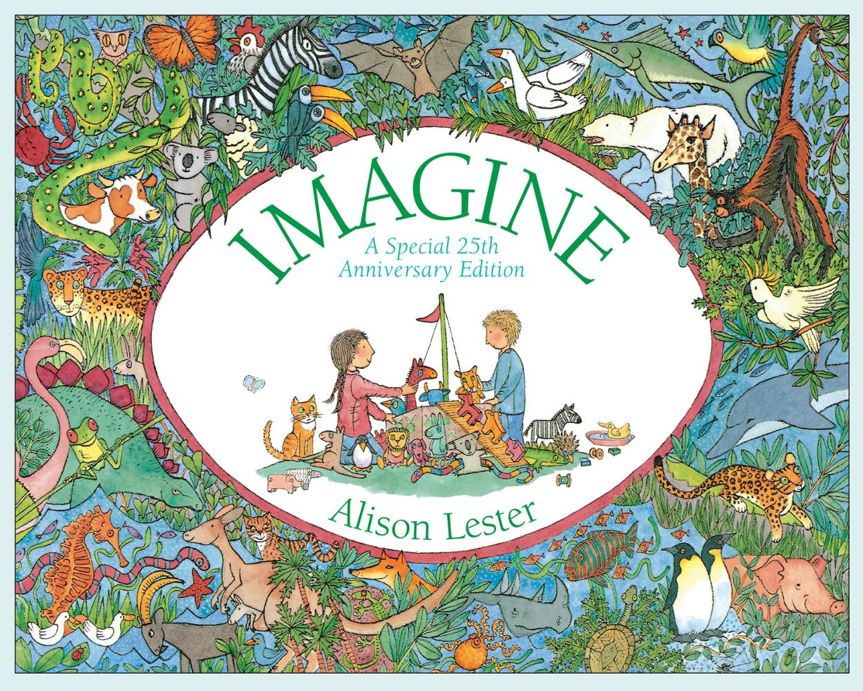 10.Imagine, by Alison Lester