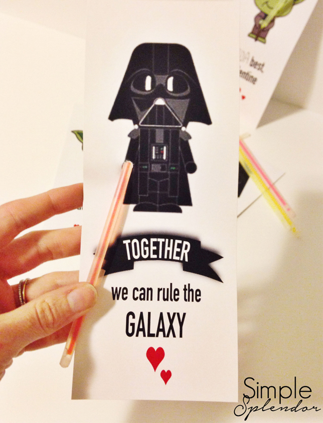 picture relating to Star Wars Printable Crafts named 14 No cost Printable Star Wars Valentines for Young children Clrooms
