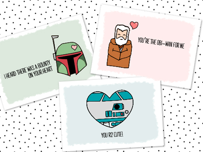 image relating to Star Wars Printable Cards titled 14 Cost-free Printable Star Wars Valentines for Small children Clrooms