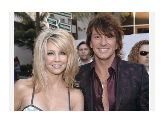 Heather Locklear & Richie Sambora