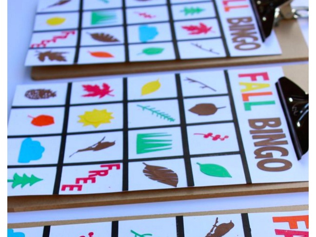 Engage them in a game (or two) of DIY Bingo.