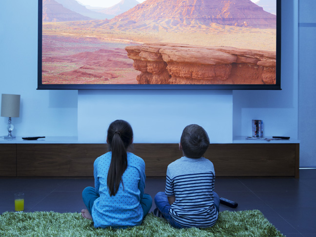 Treat them to a day at the movies (at home).