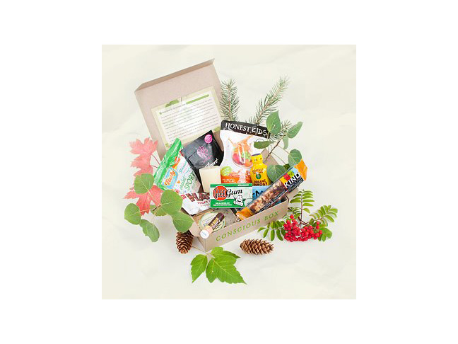 Conscious Box ($16.95+/mo. for Plus size; $6.95+/month for Taster size)