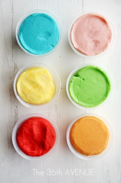 jelly crystals Play Dough
